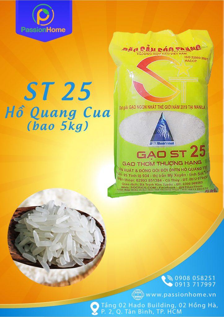 gạo hữu cơ, gạo st 25